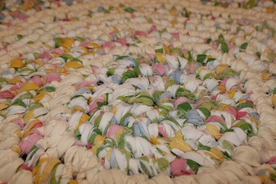 Upcycled Crochet Rag Rug