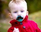 mustache binky