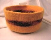 Medium Gold and Mixed Colors Bowl