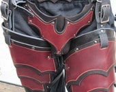 Leather Armor Sentinel GothicCuisses and Cod Piece
