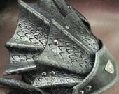 Leather Armor Dragon Scale Head Piece
