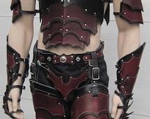 Leather Armor Gothic Full Set