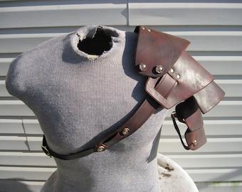 Leather Armor Sentinel segmented shoulder