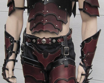 Leather Armor Gothic Full Set