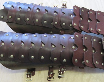 Leather Armor Plated Gauntlets