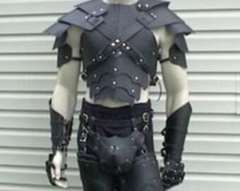 Leather Armor Sentinel Gothic Set