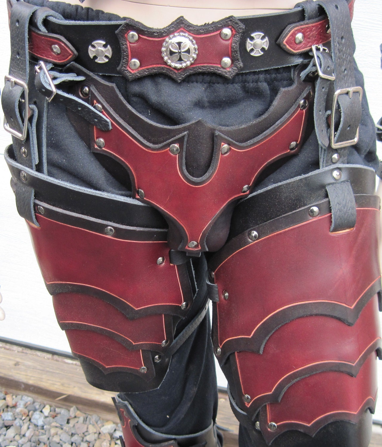 codpiece pattern armour
