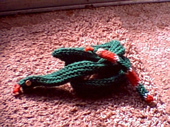 Loomed Snake Toy