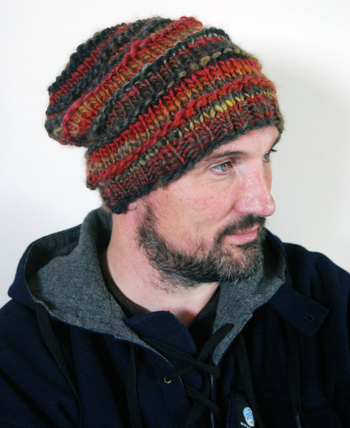 Bills Rustic Beanie knitting pattern .pdf