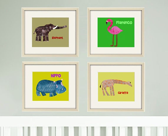 Boys art prints,Safari nursery art,Baby boy room,nursery decor Art for kids wall art, kids decor,Jungle nursery art ANY 4 8x10 Jungle prints