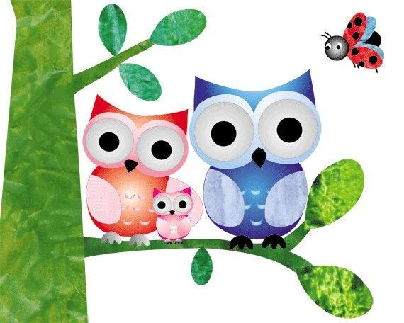 Nursery Art Prints,  art for Kids, baby wall art, Child Room Decor,  Baby Owl Art, owl nursery, owl nursery decor,  8x10 nursery print
