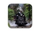 "Drink Coasters ""Puffing Billy"" - 4 pack"