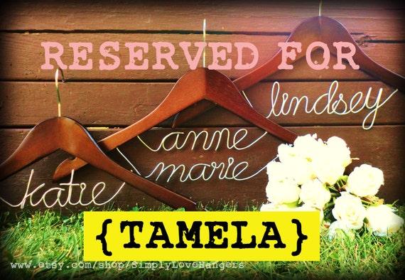 Reserved for TAMELA