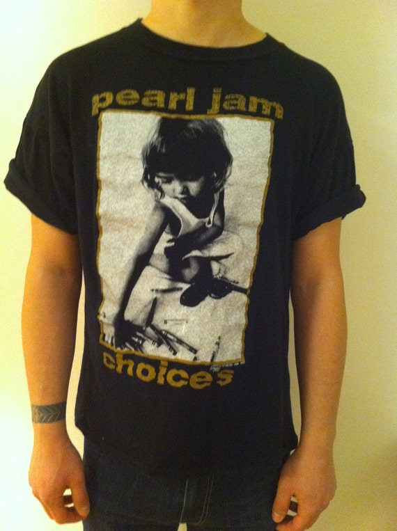 Pearl Jam T-shirts, Buy Vintage Clothing & MORE