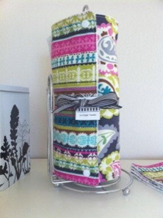 Reusable Un Paper Towel Set - Bright Collection