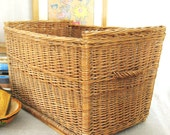 Vintage Very Large Basket - HBC Vintage HardGoods