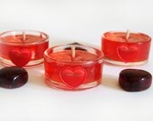 "Set of Candles ""cherry"", with the aroma of cherries, scented, rusteam"