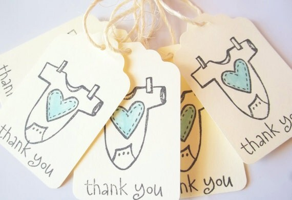 baby shower favors party favor tags thank you tags boy or girl