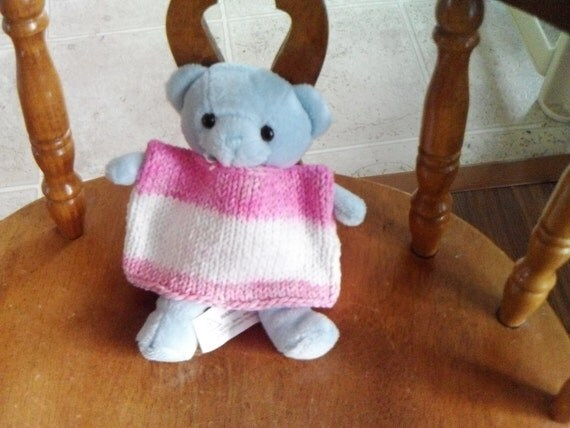 Knit Pink Shirt for Doll or Bear