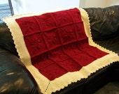 Crochet Granny Square / Crochet Flower Blanket