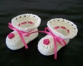 Crochet Baby Shoes . Baby Bootie
