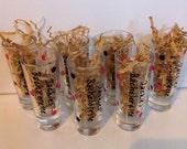 Personalized Shot Glass, Bachelor Gift, Bachelorette shot glass, bridesmaid shot glass,  Birthday Gift