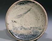 blue/white dinner plate