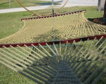 Outer Banks Hammocks Seafarer gold rope hammock