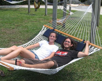 Outer Banks Deluxe Double Rope Hammock