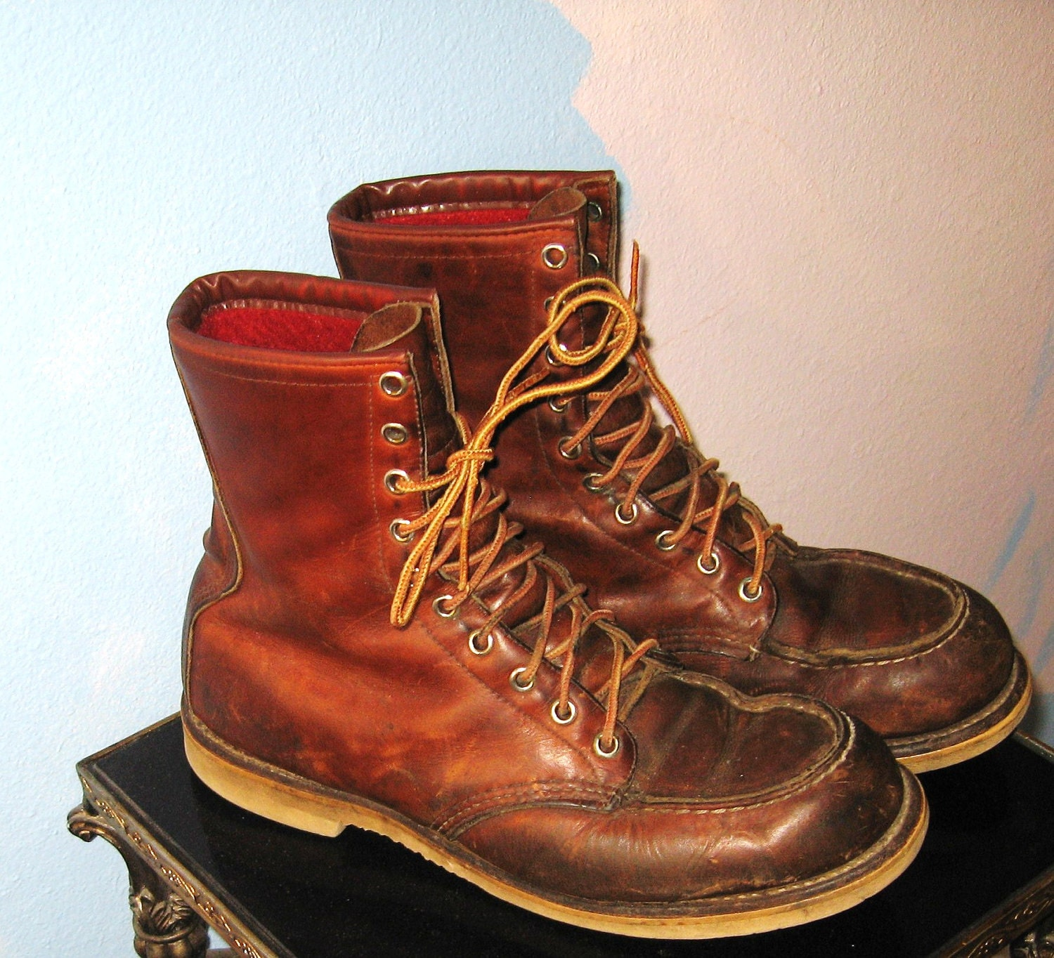Vintage Red Wing Work Boots Size 8.5 Reserved