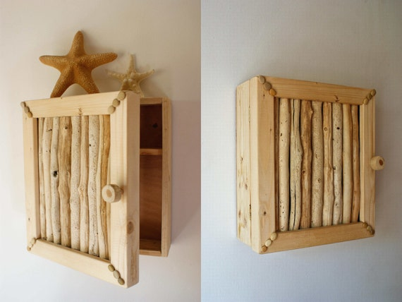 Driftwood Cupboard Bathroom Cabinet Natural Driftwood