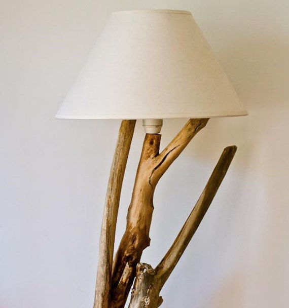 Simply Natural Olive Tree Lamp, Natural Design, Driftwood Decoration, Driftwood Lamp, Handmade Lamp, Natural Wood Lamp