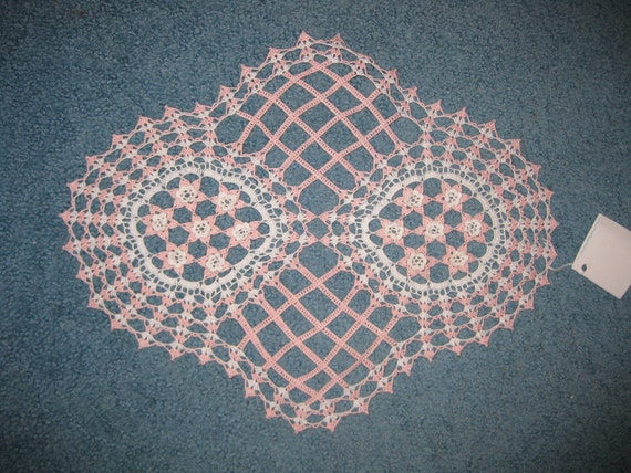 Rose Lattice Doily