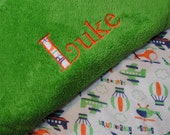Custom Made Toddler Blanket - Personalized