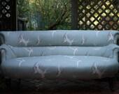 Antique Elegant Edwardian Swallow Sette / Sofa