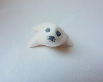 Seal pup - Handmade FIMO