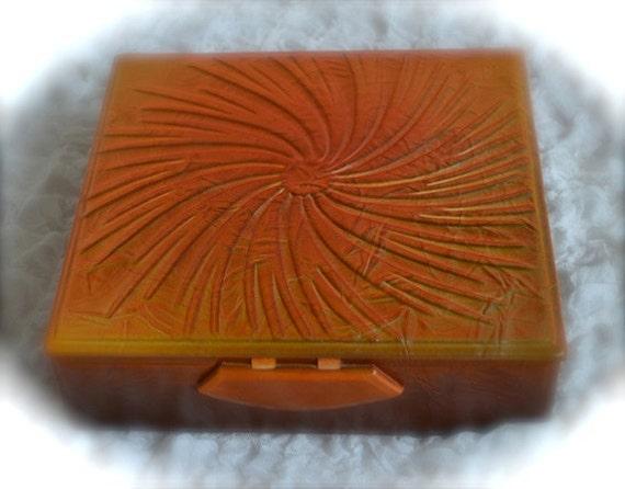 Leather jewellery / photo box