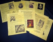 Book of Shadows 8 pages 7 Witches' Bios and History