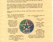 Book of Shadows page about How to Plant a Witch's Garden