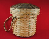 Abenaki Knitting Basket