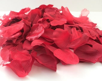 Add Rose Petals to Any Flower Girl Basket that is Purchased from Wonderstruck Weddings & Wreaths - You may choose Red, White, or Ivory