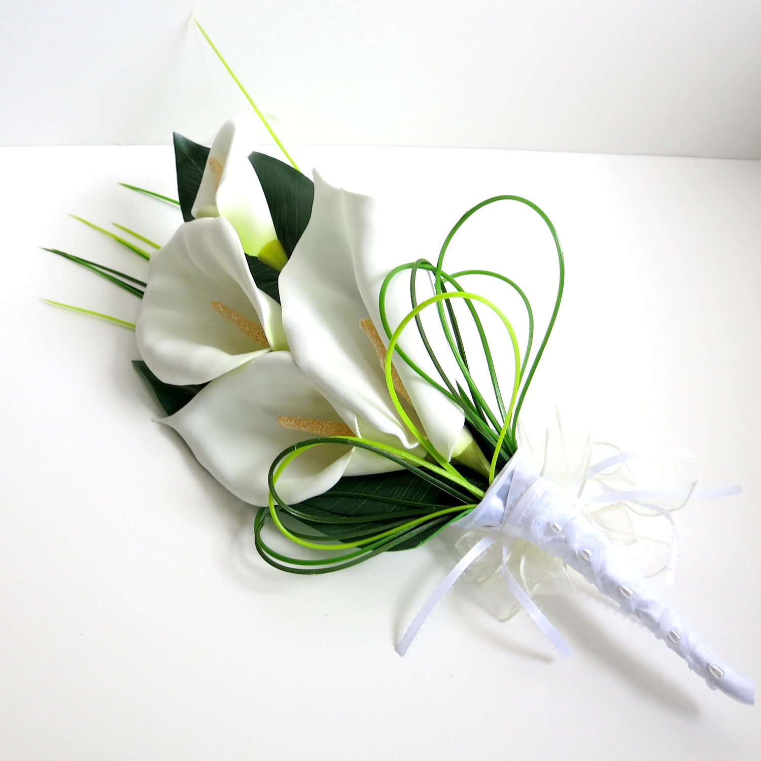 Emejing wedding bouquets with calla lilies images styles ideas how to make a wedding bouquet with calla lilies floristry archives izmirmasajfo Choice Image