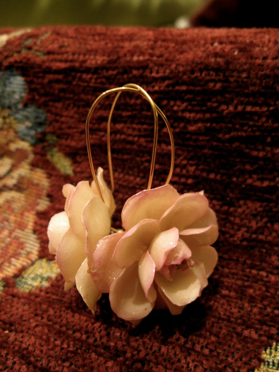 RESERVED FOR CECILE: Perfect Rose Jewelry Gift Set (Earrings only)