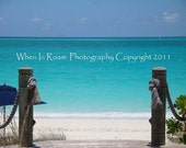"Gateway to the Caribbean in Providenciales, Turks and Caicos - Photography - Fine Art - 11"" X 14"" matted"