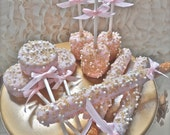 Complete Candy Buffet Sampler Package Frost The Cake Pink and Gold