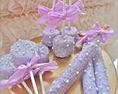 Complete Candy Buffet Frost The Cake Purple And Silver