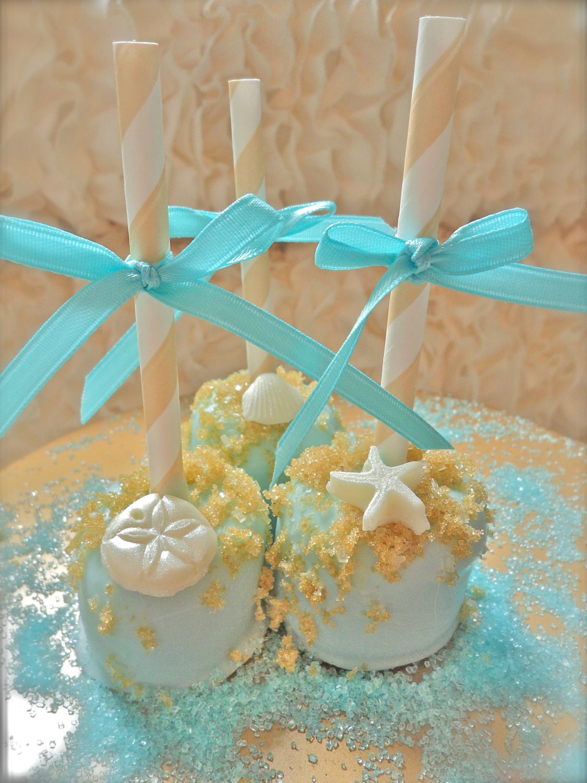Candy Seashells For Wedding Cake