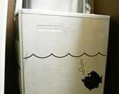 Swimming Fish Removable Wall Decal