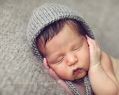 Knit Baby Bonnet - Baby Hat - Knitted Baby Hat