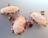 baroque pearl bracelet bridal wedding jewelry embroidery